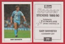 Coventry City Gary Bannister 77